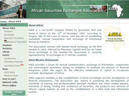 African Securities Exchanges Association (ASEA)