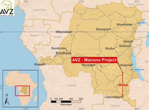 3Manono Lithium Project