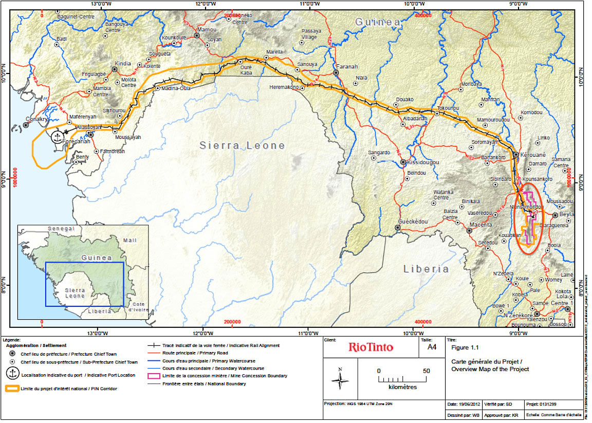 Aout 2013 Simandou map