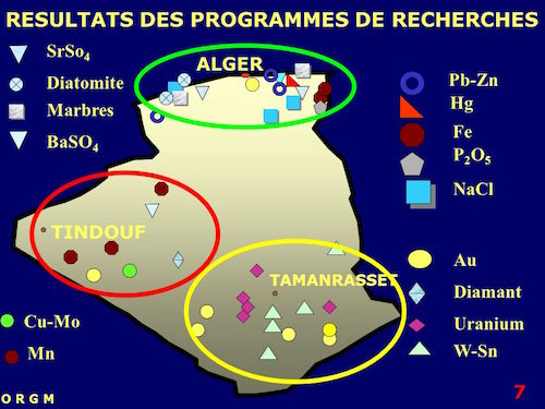 uranium algérie