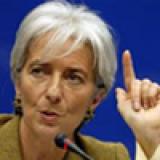 Christine Lagarde, directrice générale, FMI