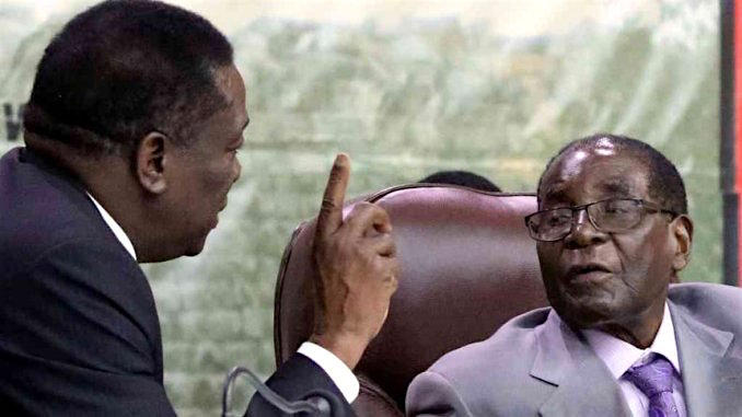 2 Mnangagwa and Mugabe