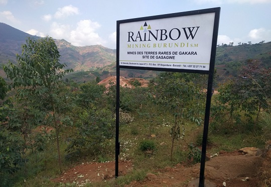 Rainbow rare earth burundi