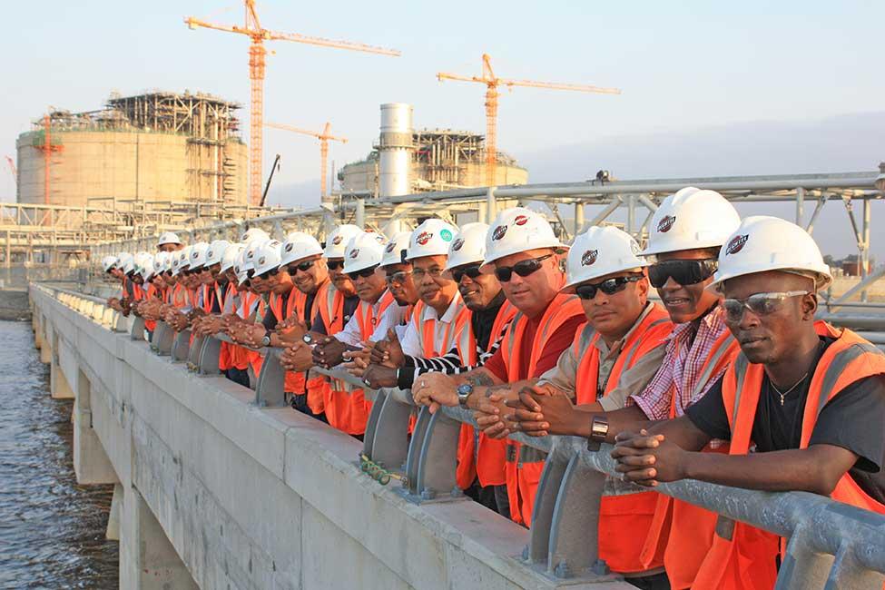LNG Angola Team