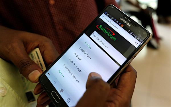 Safaricom mobile money