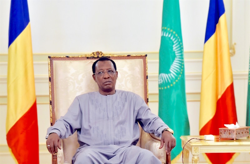idriss deby fauteuil