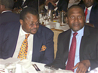 Mike Adenuga Aliko Dangote