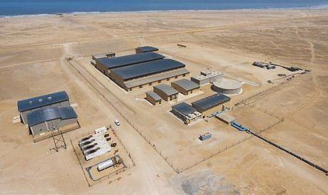 Erongo desalination plant 460 Areva