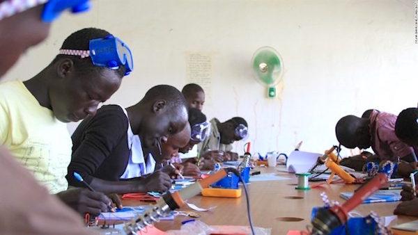 Robotics Training session in Sub Saharan Africa has started in Lagos