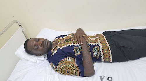bobi wine in hospital