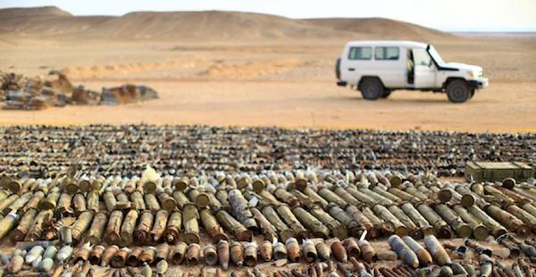 aLibya armes