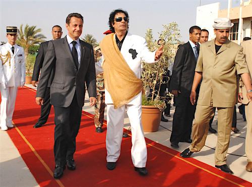 aSarkozy Kadhafi Tripoli Libye 25 juillet 20070729539