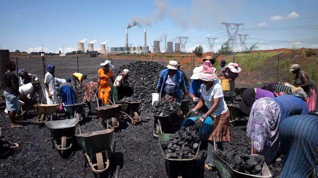 charbon afrique du sud