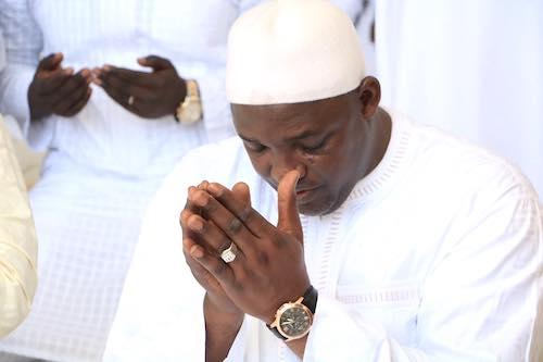 Adama Barrow prière 2