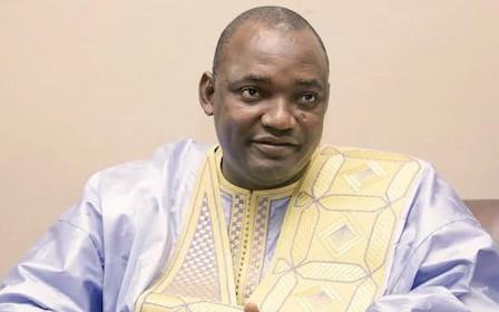 africa gambia Adama Barrow