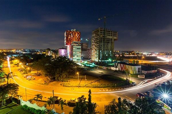 Accra, selon le photographe Steve Abadio.