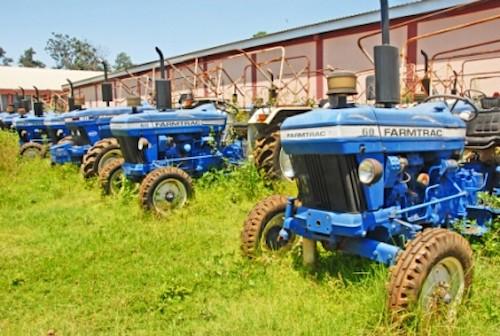 tracteurs abandon
