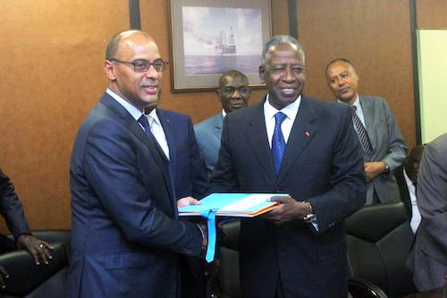 Passation charges Thierry Tanoh adama Toungara