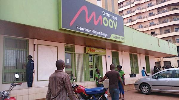 Agence Moov Centrafrique PK0 Bangui diaspora