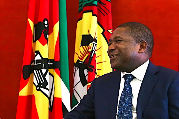 Filipe Nyusi President of Mozambique says no war asylum seekers