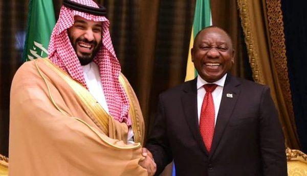saudi arabia south africa ramaphosa