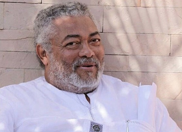 Jerry Rawlings smile
