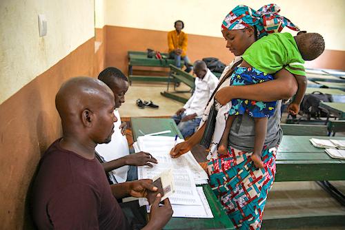 45% des femmes vivant dans les pays à faible revenu n'ont pas d'identité légale.