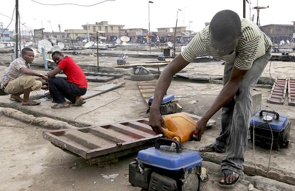 Les petits générateurs pèsent 22% des émissions de gaz à effet de serre du Nigeria.