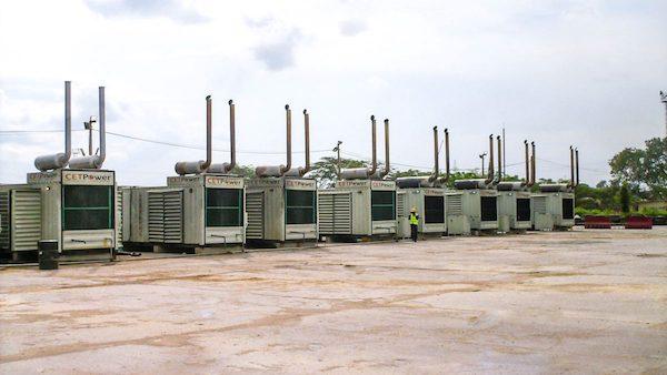 3Power Plant at Sierra Rutiles Mining Plant