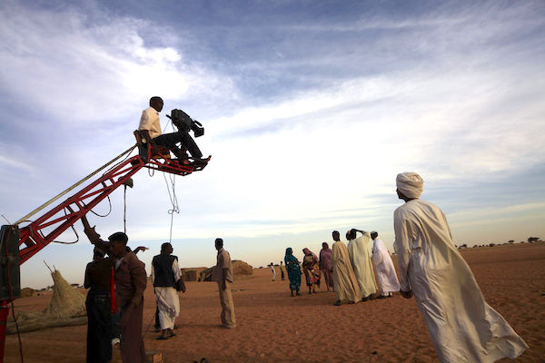 4Tournage du film Stolen the Sun à Omdurman