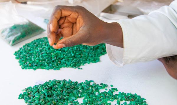 3Zambian Emerald vente