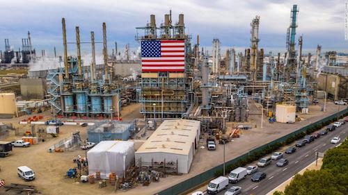 1oil refinery usa