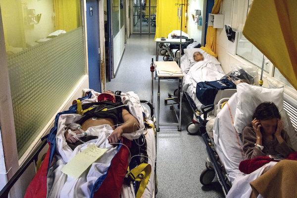 1malades couloirs