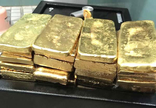1 raw gold