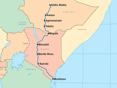 1 Nairobi Mombasa Addis Abeba