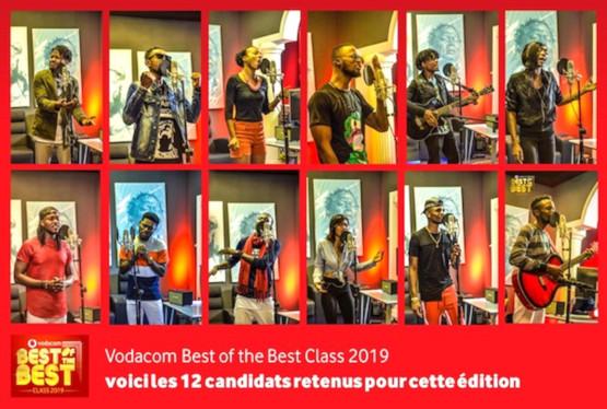 vodacom in of the best class 2019 voici les 12 candidats retenus pour cette edition